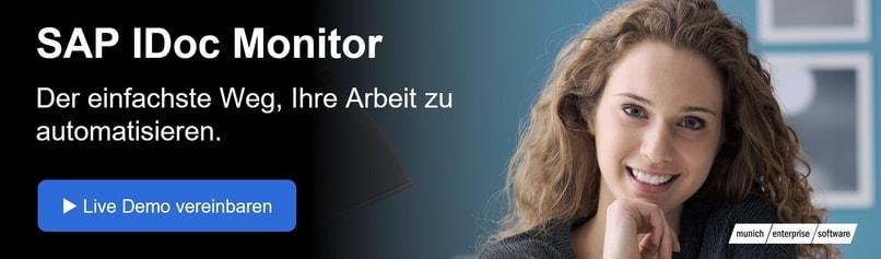 Automatice su trabajo con el IDocMonitor del software empresarial de Munich