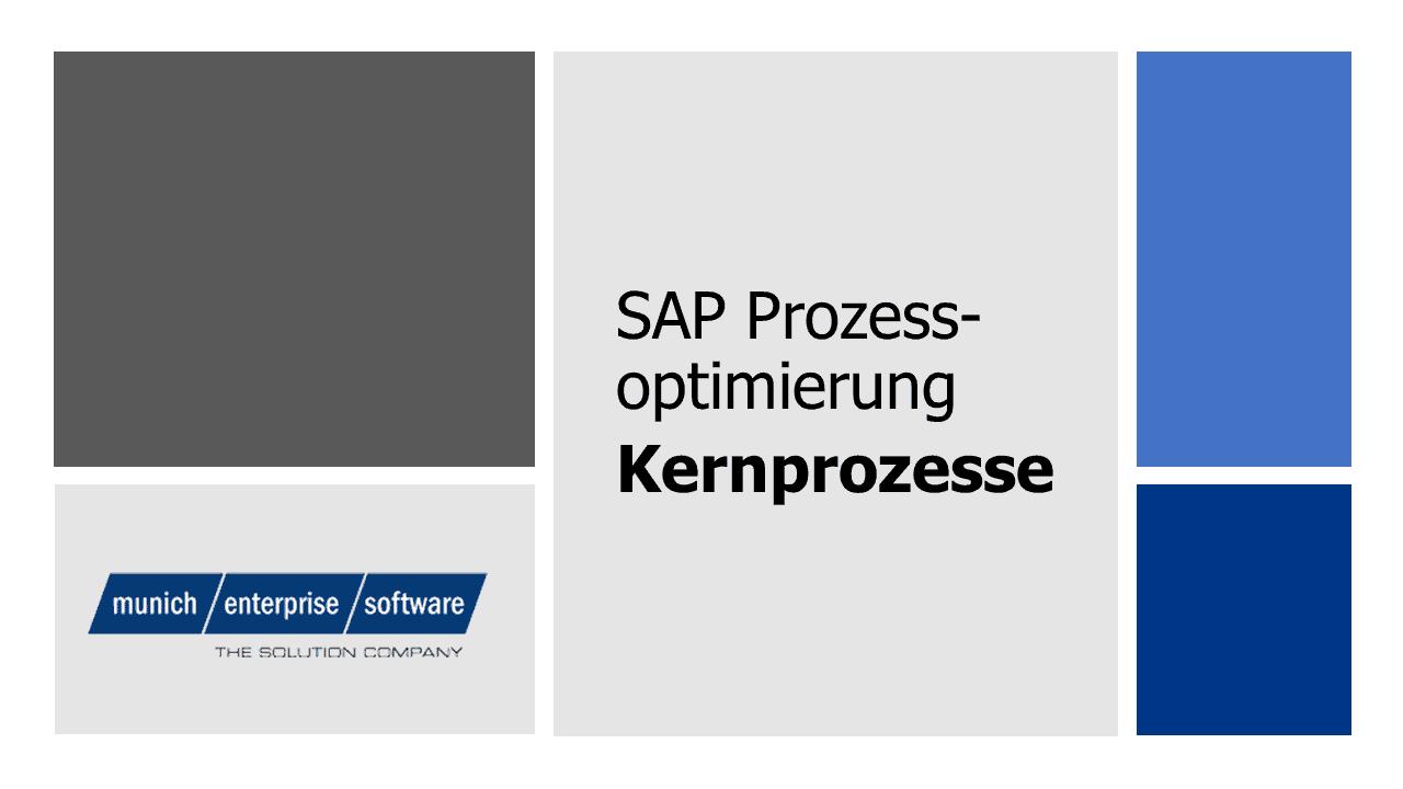 Kernprozesse SAP
