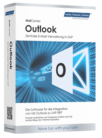 SAP Outlook Integration Produktbox