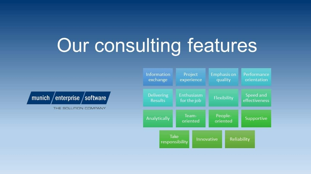 consulting features