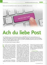 References SAP Mail Specialist Article E3 Magazine