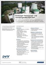 Referenzen SAP Mail Success Story - DVV