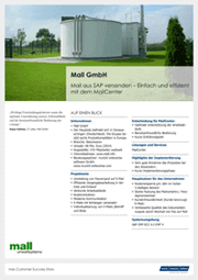 Referenzen SAP Mail Success Story Mall