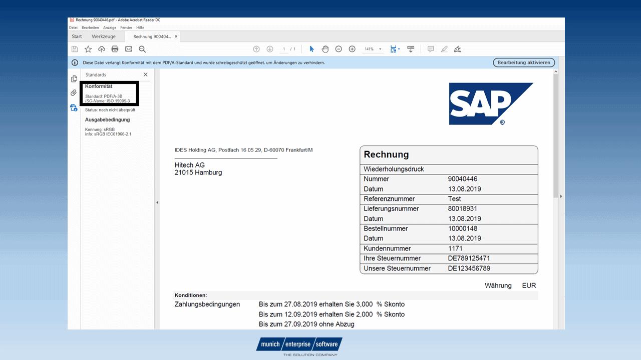 SAP Formular