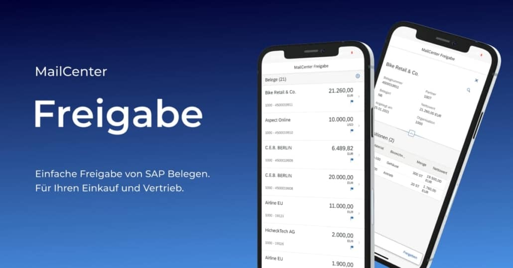 MC Release App Freigabeprozess SAP munich iOS App