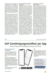 SAP Genehmigungsworkflow per App