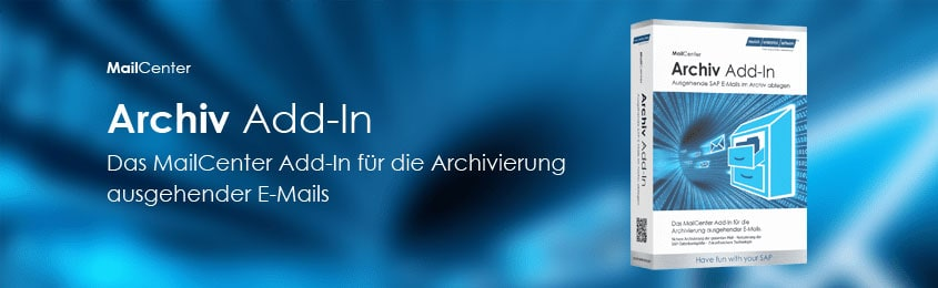 SAP Mail Archivierung MailCenter Add-on