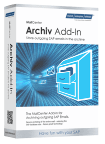 SAP Mail archiving product box
