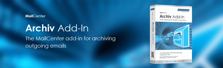 SAP mail archiving MailCenter add-on