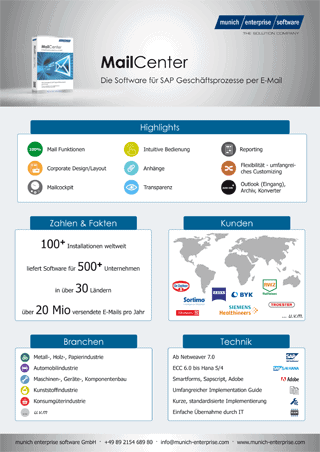 sap mail factsheet