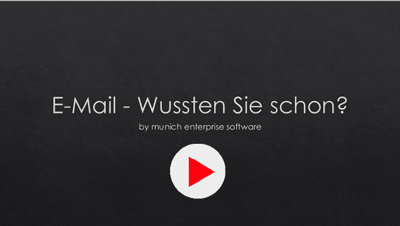 SAP Mail Fakten Video Clip