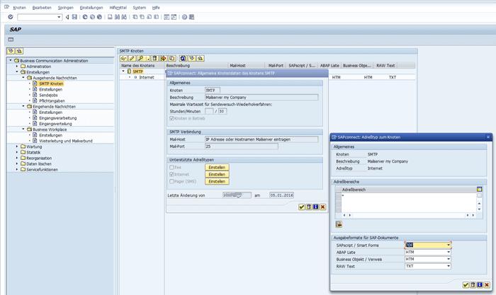 Send SAP Mail | Configure Mail Delivery | SAPConnect | Notes