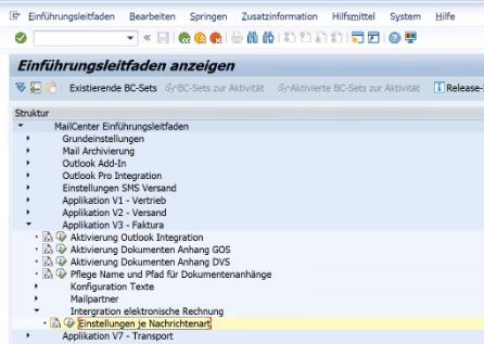 sap xrechnung zugferd customizing