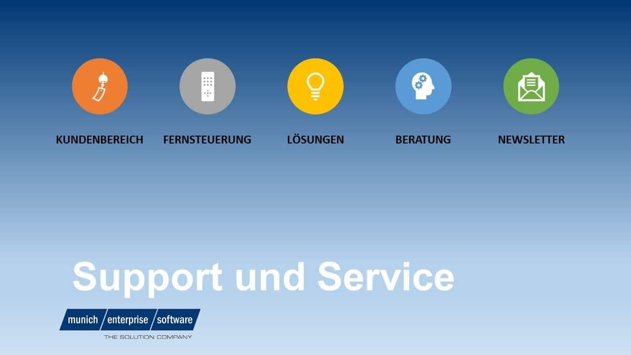 Support und Service