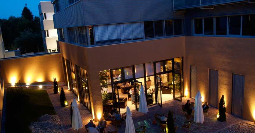 Company location terrace